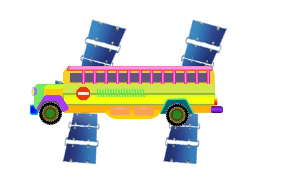 Satellite bus