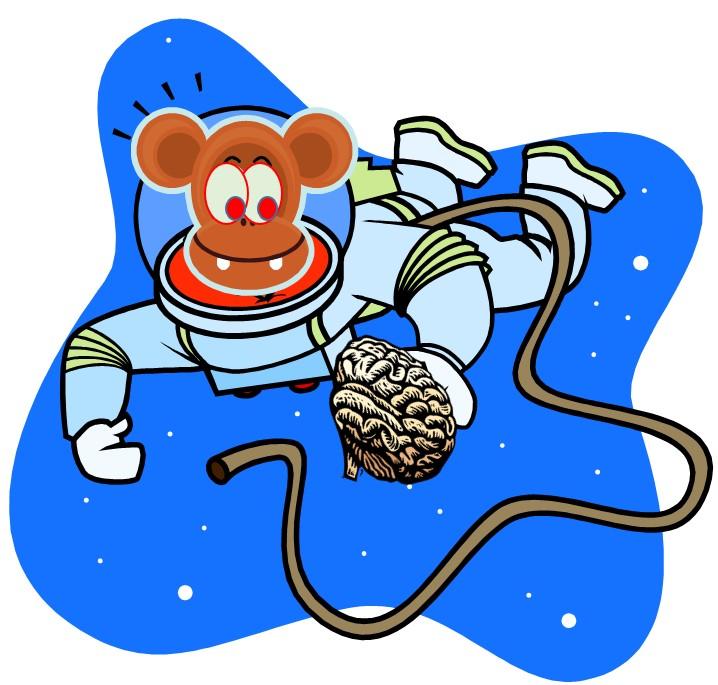 Mmmm....Brains--IN SPACE!!