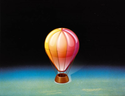 Balloon in Space