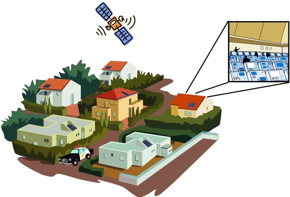 Police Satellite
