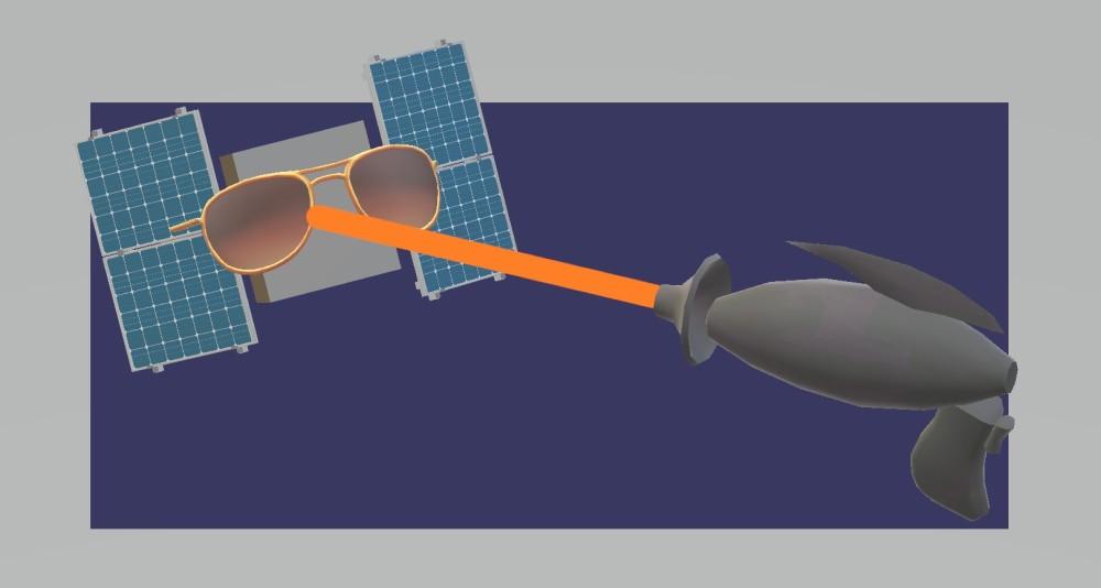 Lasersat